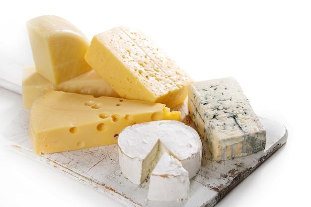 Heerlijke stukjes kaas Gratis Foto