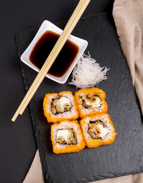 Heerlijke sushi Gratis Foto