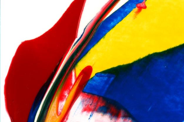 Helder geschilderd canvas Premium Foto