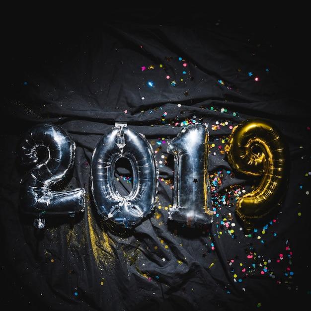 Heldere ballonnen 2019 Gratis Foto