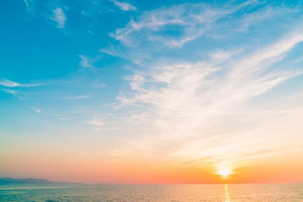 Hemel landschap schemer schoonheid strand Gratis Foto