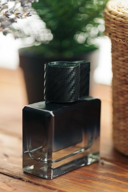 Heren parfum. flessenspray Premium Foto