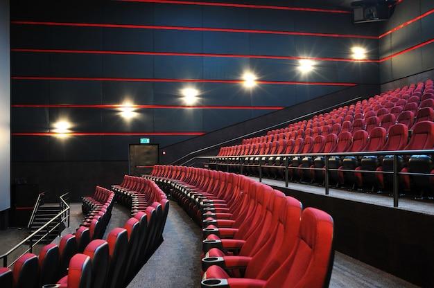 Het bioscoophuis. binnen Premium Foto