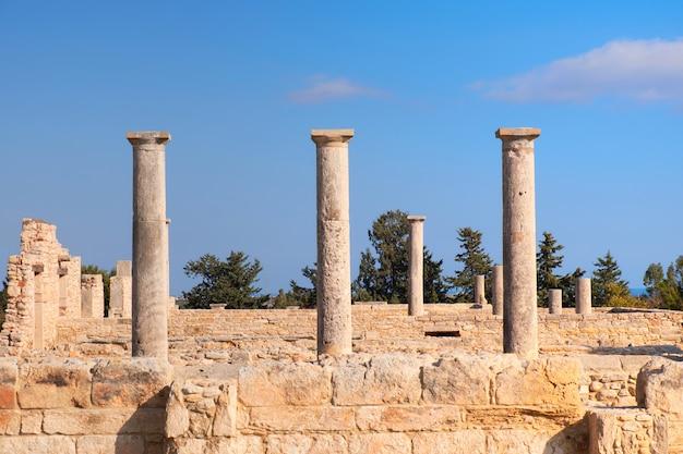 Het heiligdom van apollo hyllates in cyprus, griekenland Premium Foto