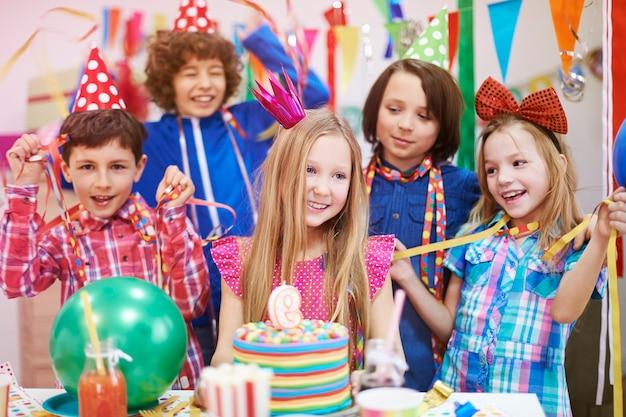 Het is mijn beste verjaardagsfeestje Gratis Foto
