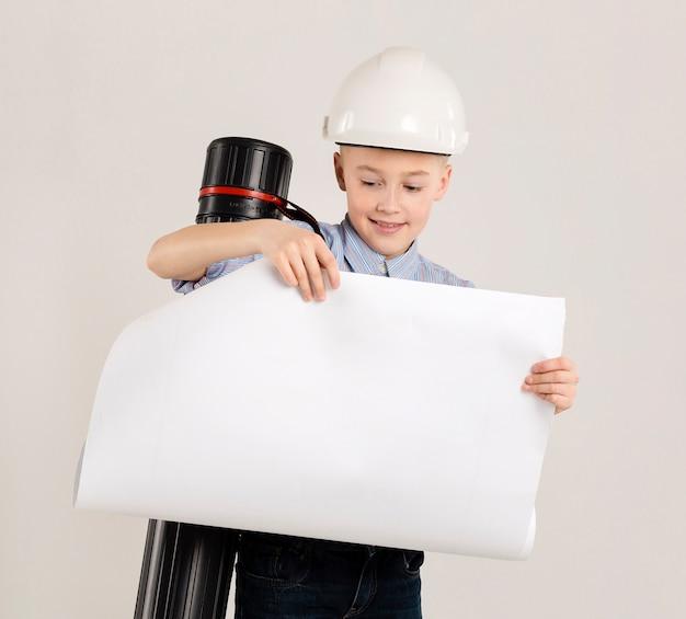 Het jonge project van de bouwvakkerholding Gratis Foto