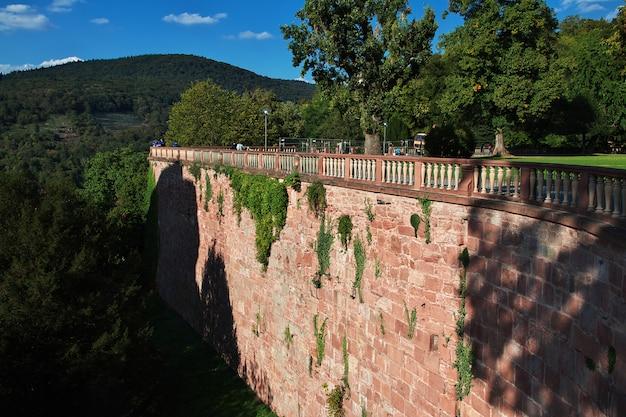 Het kasteel in heidelberg, duitsland Premium Foto