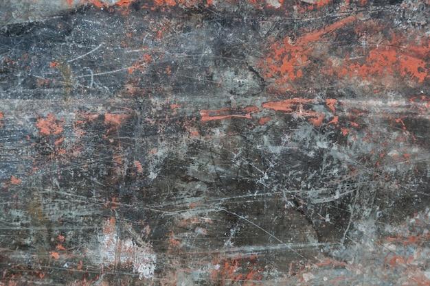 Het metaal tastte roestige grungy textuurachtergrond aan Premium Foto