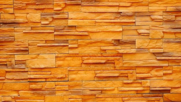 Het oppervlak van oude bruine en rode bakstenen muren Premium Foto