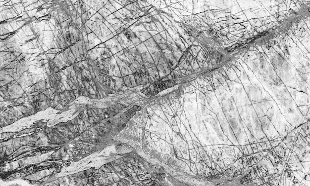 Het zwarte marmeren natuurlijke patroon voor achtergrond, vat natuurlijke marmeren zwart-wit samen Premium Foto