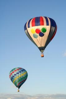 Hete lucht ballonnen foto Gratis Foto