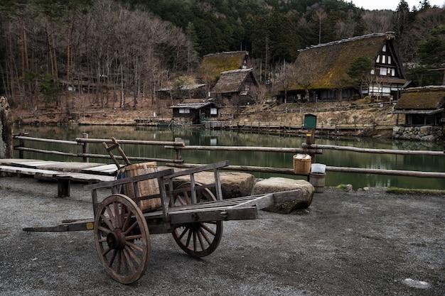 Hida folk village in takayama Premium Foto