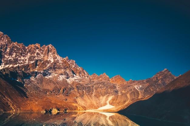 Himalaya-berglandschap Premium Foto
