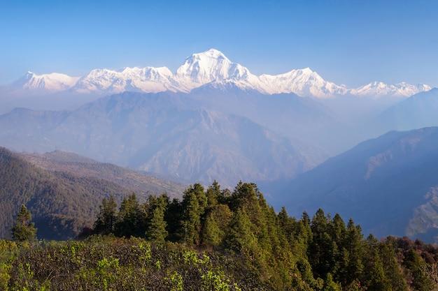 Himalaya gebergte Premium Foto
