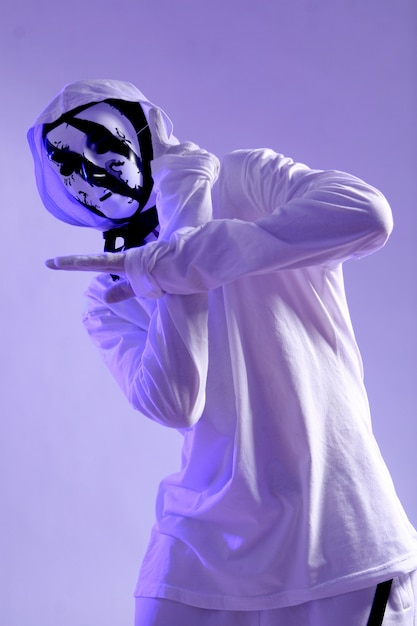 Hiphopdanser in studio Gratis Foto
