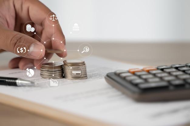 Home ziektekostenverzekering concept gezondheidszorg medisch financieel concept emoticon pictogrammen Premium Foto