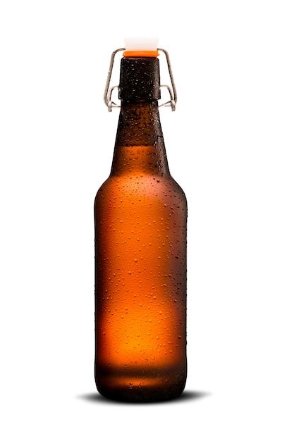 Homebrew beer in growler Premium Foto