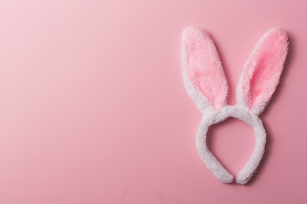 Hoofdband met konijnenoren Gratis Foto
