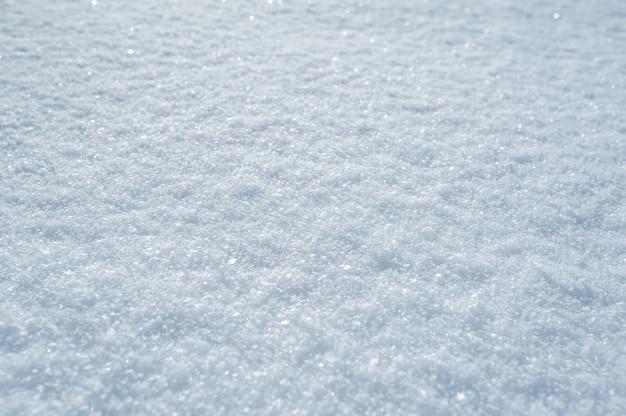 Hoog gedetailleerd oppervlak van de sneeuw van de winterkerstmis Premium Foto