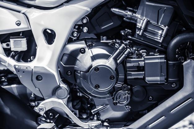 Hoogwaardige motorfietsmotor. Premium Foto
