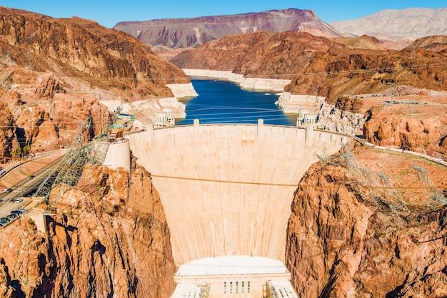 Hoover dam bij lake mead Gratis Foto