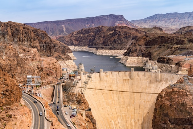 Hoover dam usa Premium Foto