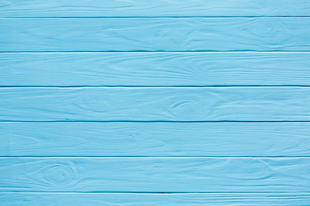 Horizontale houten strepen blauw geverfd Gratis Foto