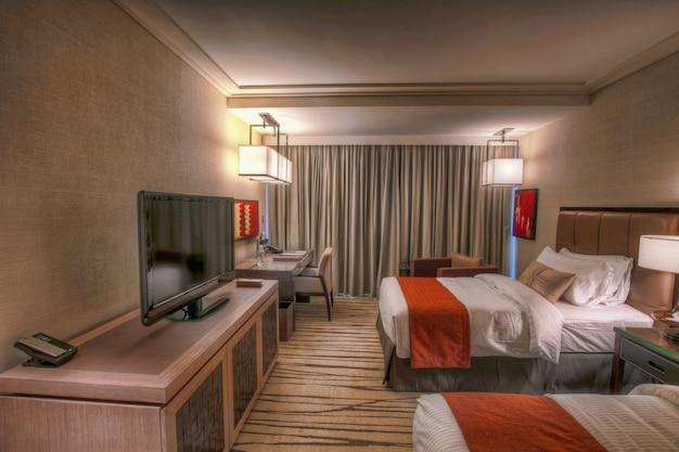 hotelkamer interieur premium foto