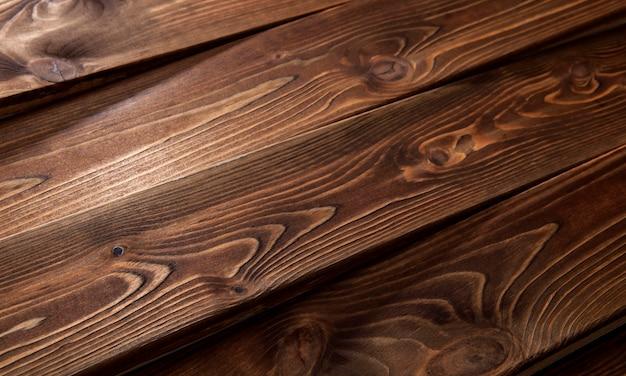 Houten achtergrond of textuur van planken Premium Foto
