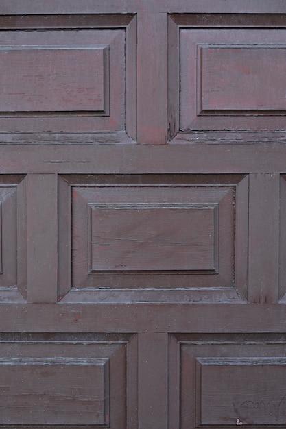 Houten oppervlak met geometrisch patroon Gratis Foto