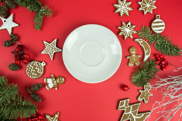 Сhristmas decoraties Premium Foto