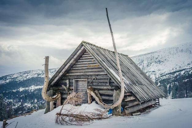 Huisje in de barania-hal Gratis Foto