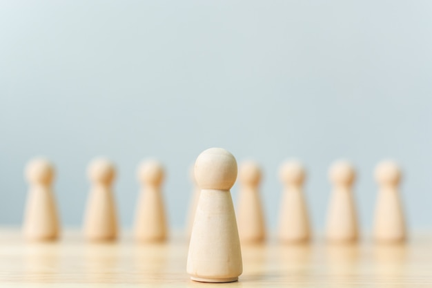 Human resource, talent management, recruitment-medewerker Premium Foto