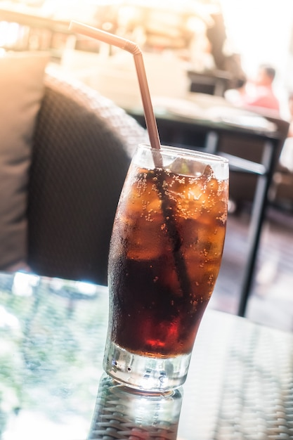 Iced-colaglas Gratis Foto