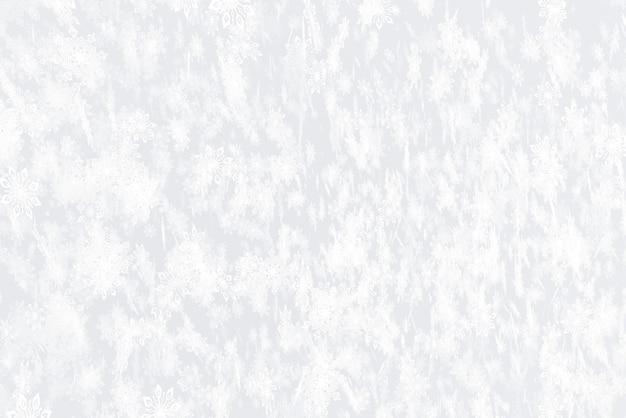 Illustratie op het thema van de nieuwe 3d illustratie van de jaarsneeuwval Premium Foto
