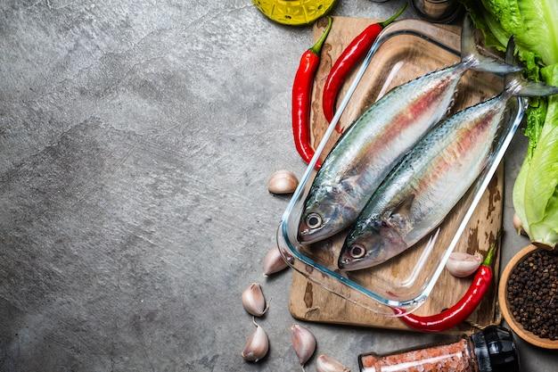 Indische makreel rastrelliger kanagurta Gratis Foto