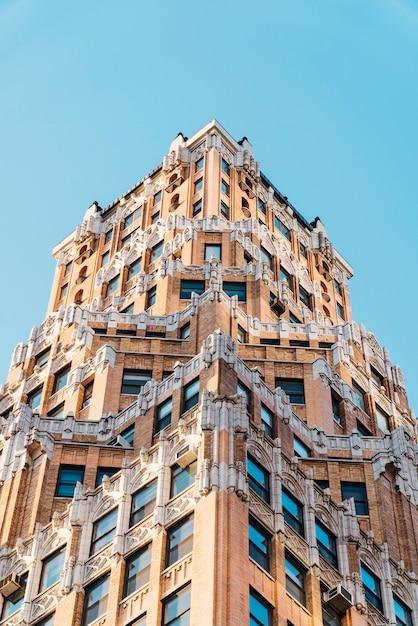 Indrukwekkend gebouw in new york Gratis Foto