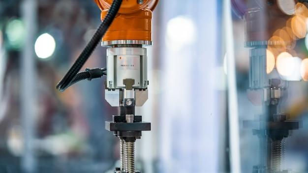 Industriële robotica machine Premium Foto