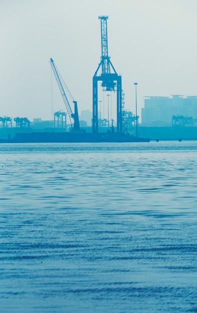Industriële vrachthaven Premium Foto