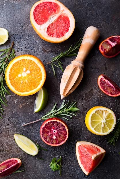 Ingrediënten voor gezonde drank. Premium Foto