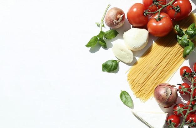 Ingrediënten voor het koken van pasta Gratis Foto