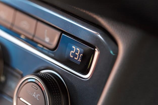 Interieurontwerp nieuw auto Premium Foto