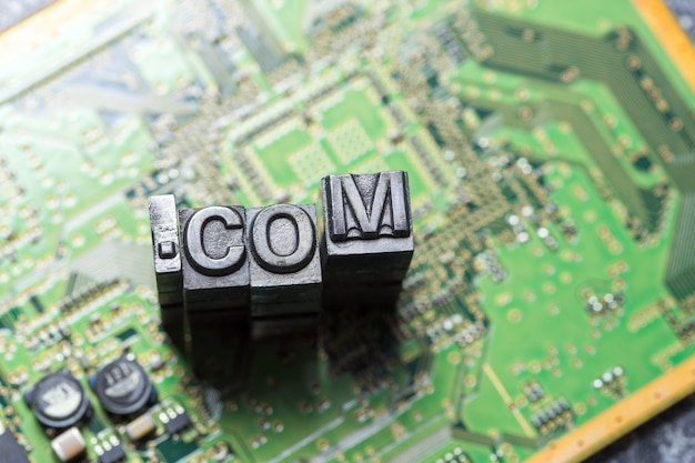 Internet, sociale media en websitepictogram Premium Foto