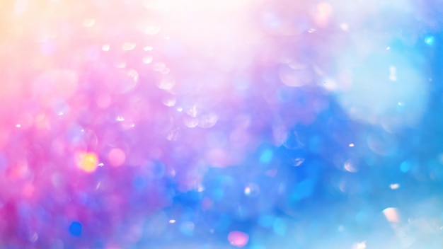 Intreepupil kleurrijke bokeh textuur. heldere, verzadigde lentekleuren Premium Foto