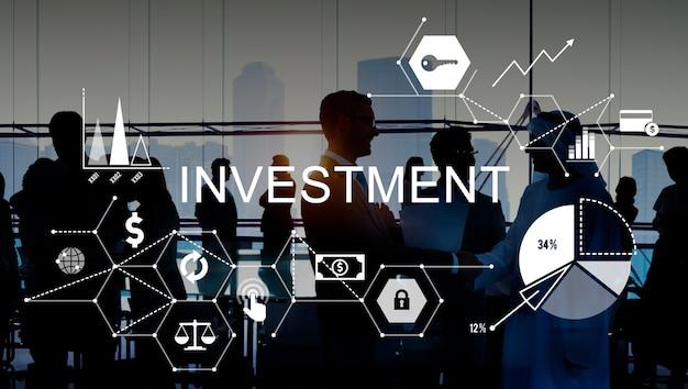 Investeringsbudget voor zakelijke begrotingskredieten Gratis Foto