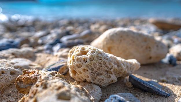Island sea stone Premium Foto