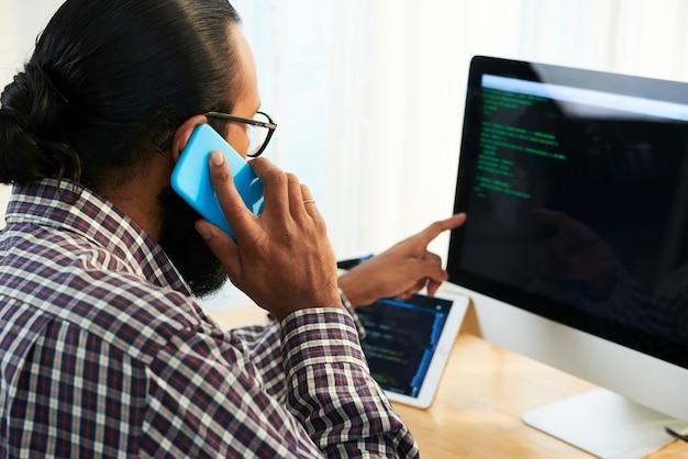 It-ingenieur advies over gegevens Gratis Foto