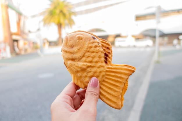 Japan snack, vis snack Premium Foto