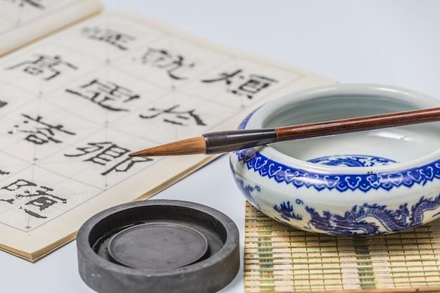 Japan steen oost japans schrijven penseel Gratis Foto