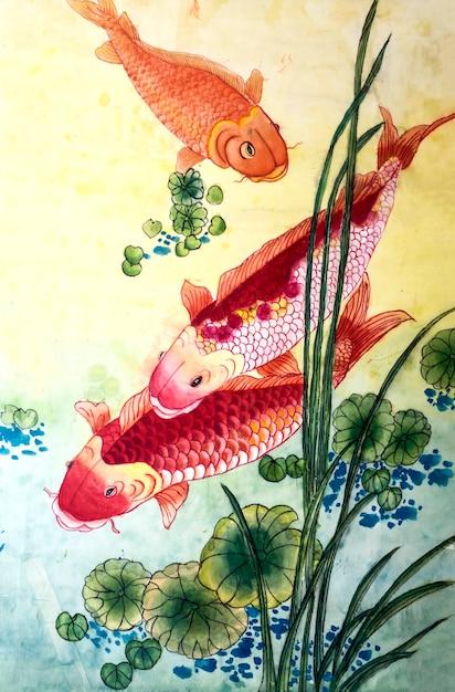 Japanse schilderij japan natuur traditionele seizoen Gratis Foto